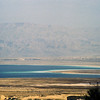 The Dead Sea as seen from the top of Masada.