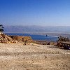 On top of Masada.