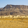 Masada seen from a distance.