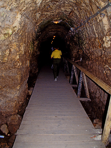 Ahab's escape tunnel and water source
