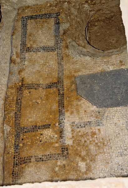This is the floor of the carpenter shop Joseph had.