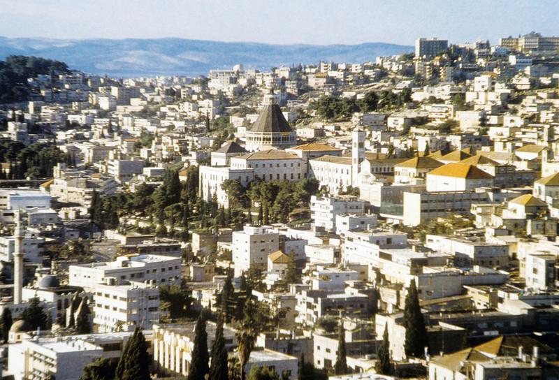 Nazareth. Church of the Annunciation in Nazareth