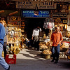 Arab tourist shops in Nazareth near the Church of the Annunciation