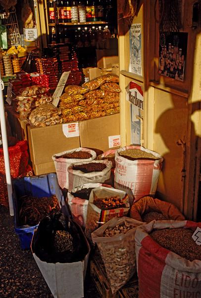 Arab shop in Nazareth near the Church of the Annunciation