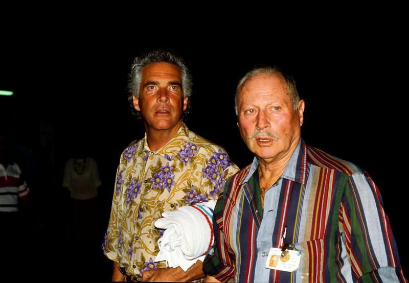 Evangelist Robert Tilton and friend