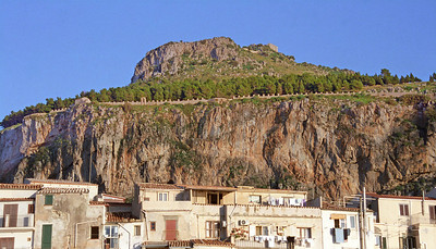 Cefalu. The Rock!