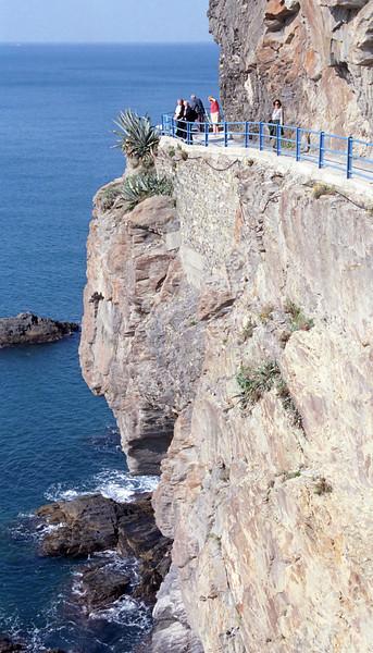 The path from Riomaggiore to Manarola