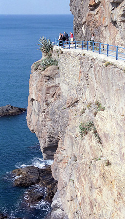 The path from Riomaggiore to Manarola