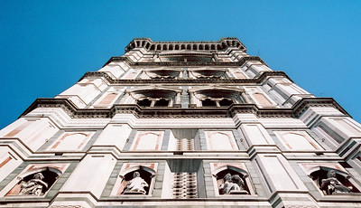 Florence, Bell Tower.  DO NOT CLIMB THIS WITHOUT EAR PLUGS