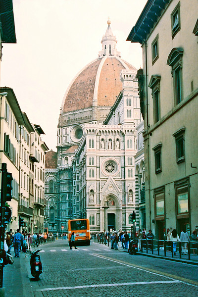 the Duomo in Firenze.