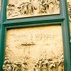 The doors of the baptistry.
