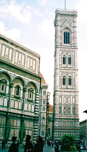 the Duomo in Firenze.