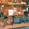 Genuine Leather Faux Designer bags at the market in Firenze.