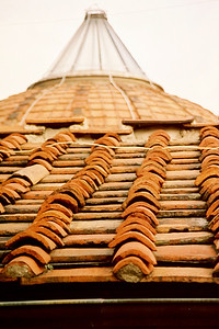 Example of tile roof tops.........