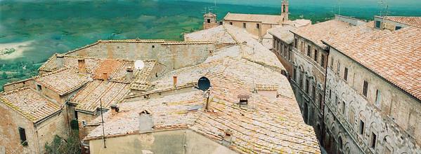 montepulciano roof tops