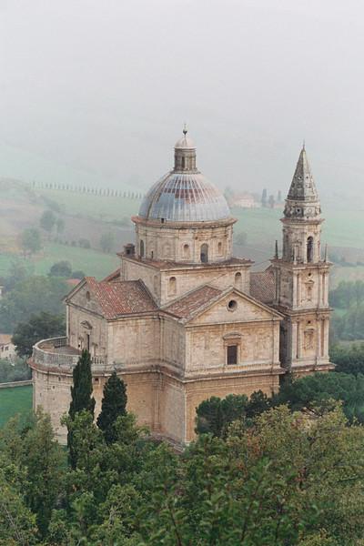 """Tuscany San Gimignano """"The white church"""""""