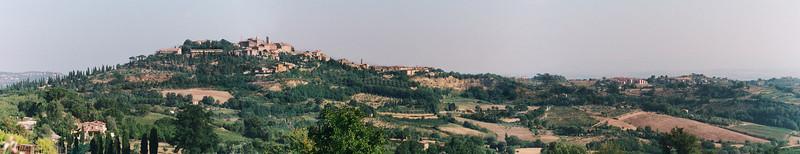 Montepulchiano Panorama Tuscany