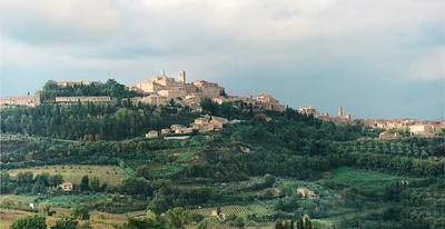 Montepulchiano pan Tuscany