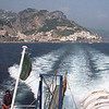 The boat ride from Amalfi to Positano