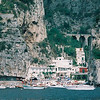 Alfredo restaurant between Amalfi and Positano