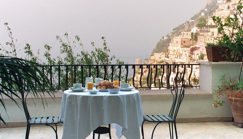 Positano;breakfast
