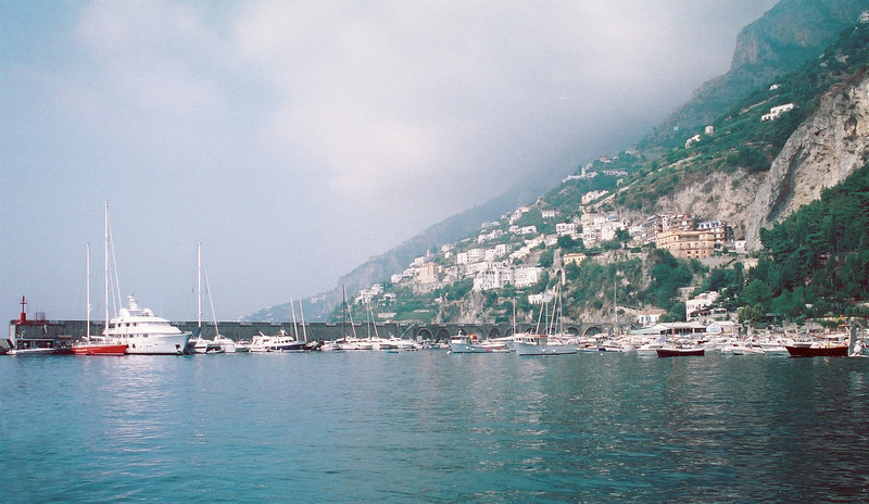 Positano harbor