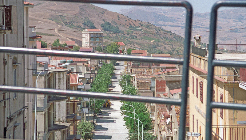 Montemagorie Bel Sito, main street.