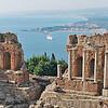 Taomina greco roman theater;