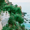 """Cefalu on the other side of """"The Mountain"""""""