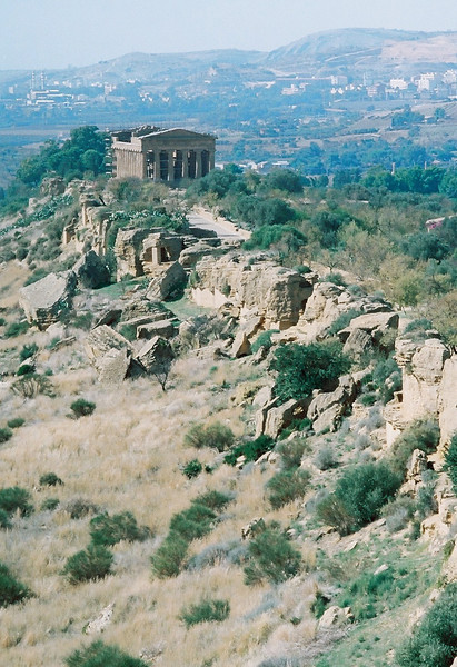 Agrigento, Valley of the Temples.