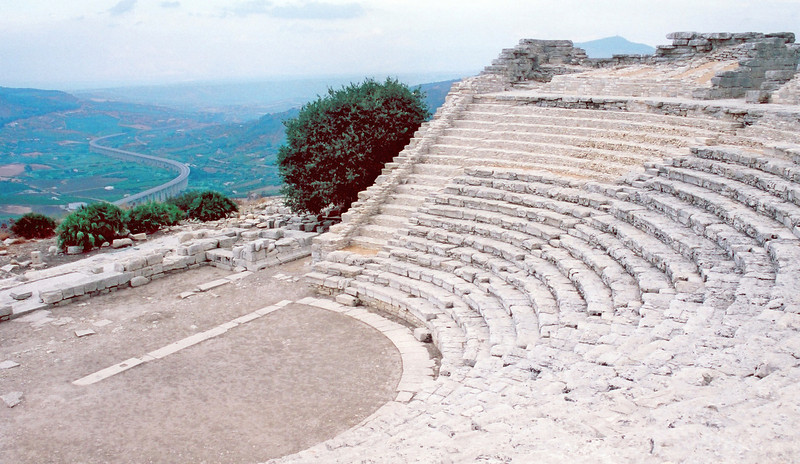 Greek Theater at Segesta