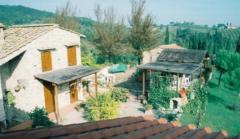 San Gimignano, Photo taken from my B&B bedroom.