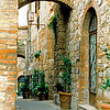 Arch Tuscany San Gimignano