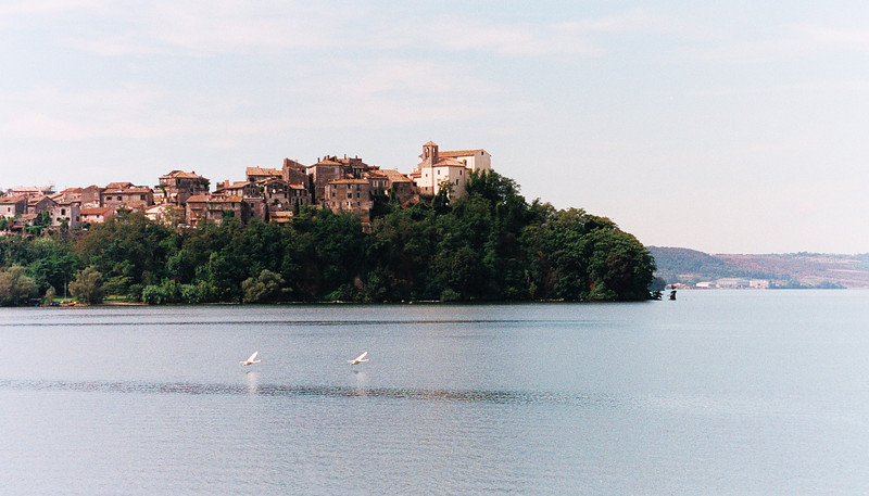 Lake Bracciano near Rome