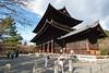 Kyoto - Gate into Nanzenji Temple (Sanmon).