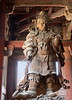 Nara - Statue in the Todaiji Temple.