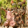 Dancer in a Maya Cermony