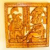 Maya Wood Carving