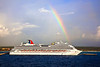 Carnival Cruise ship at Costa Maya