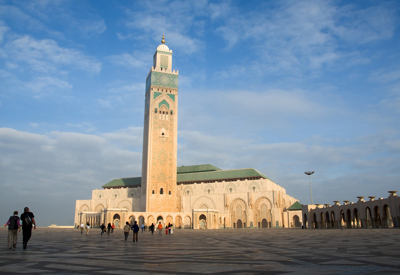 Casablanca - Mosque of Hassan II