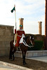Rabat - Hassan Tower - Guard at one of the entrances