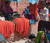 Kathmandu - Festival season supplies.