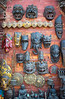 Kathmandu - Masks for sale.