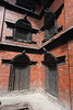 Kathmandu - Durbar Square - Kumari-ghar - Interesting woodwork.