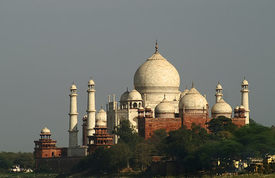 Taj Mahal - As seen from a distance.