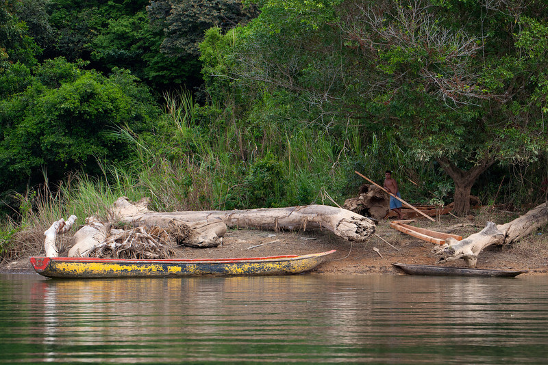 Inside Panama  On the way to visit the Embera,  Alajuela Lake