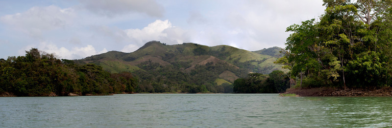 Inside Panama  On the way to visit the Embera, Alajuela Lake