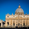 The Vatican very early morning!