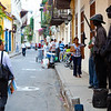 Cartagena, Columbia, Old city, street hawkers