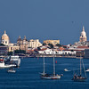 Cartagena, Columbia;Harbor; Old city